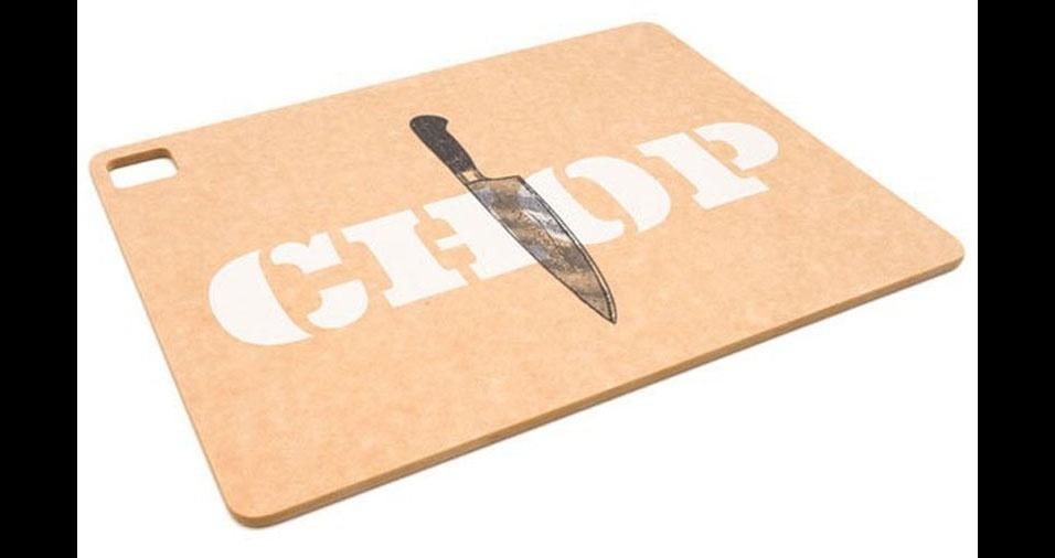 1. Tábua com suporte para faca