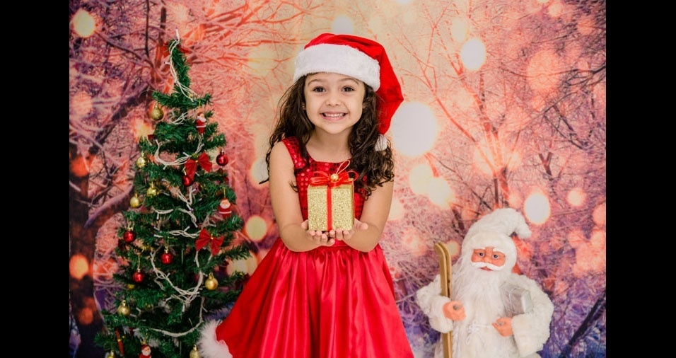 Kessia Luana Pereira Gama enviou foto da filha Raissa, de Conselheiro Lafaiete (MG)