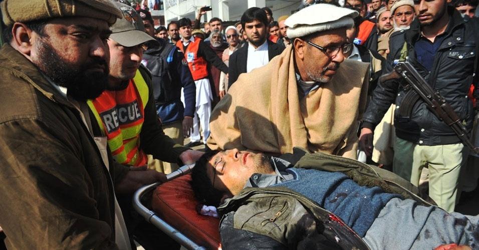 4. Charsadda, Paquistão. No dia 20 de janeiro, vários homens abriram fogo na Universidade Bacha Khan, na cidade de Charsadda. Pelo menos 20 pessoas foram mortas e mais 20 ficaram feridas