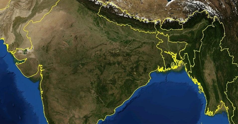 20. A disputa territorial pela ilha de Moore entre Índia e Bangladesh acabou depois de 30 anos de forma natural: o mar engoliu a ilha