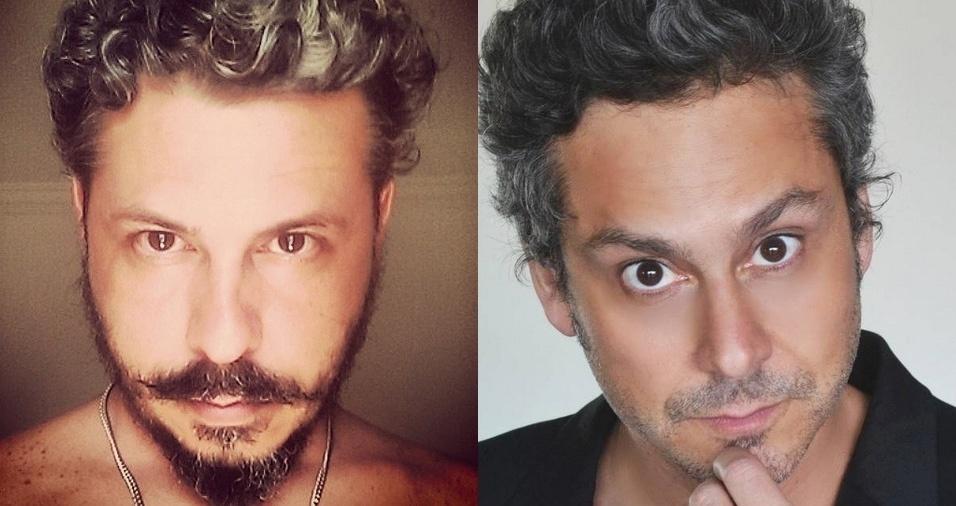 """10. Comendador (Alexandre Nero) - Konrad Soares é muito parecido com o ator Alexandre Nero, que fez o papel do Comendador na novela """"Império"""", mas trabalha profissionalmente como músico e artista"""