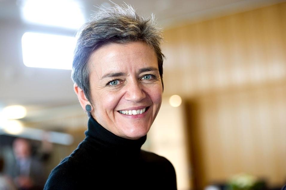Categoria Titãs: Margrethe Vestager, comissária antitruste da União Europeia