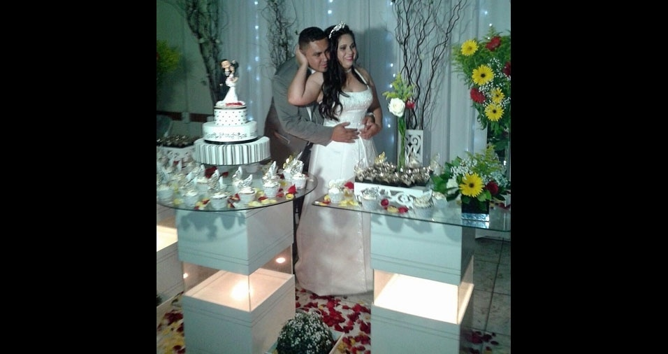 Margarete Aparecida Souza e Carlos Alberto casaram-se no dia 19 de novembro de 2016, em Santo André (SP)