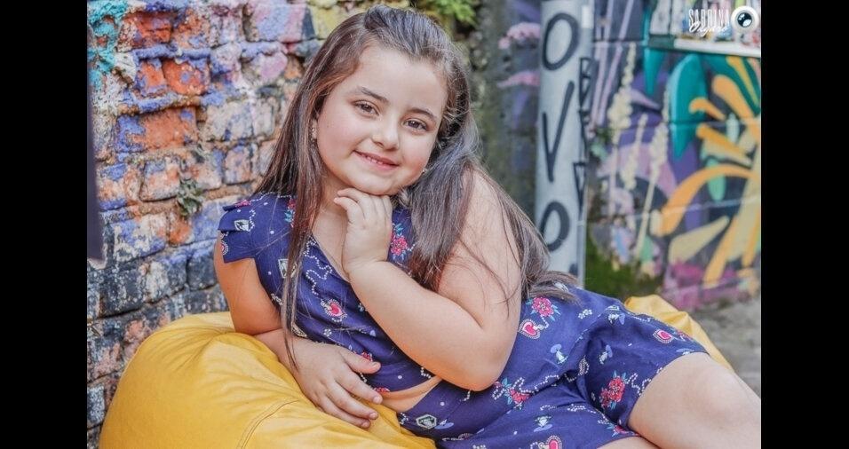 "A Renata, de Ibiúna (SP), enviou foto da filha Ana Julia Albuquerque: ""Meu anjo que só me enche de orgulho"""
