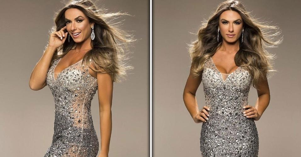 15.jun.2016 - Nicole Bahls nasceu em 15 de novembro de 1985. Natural de Londrina (PR), aos 15 anos já participava (e faturava) concursos de beleza na cidade. Mais tarde se mudou para São Paulo e se tornou modelo profissional. O primeiro gostinho de fama veio com a vitória no concurso