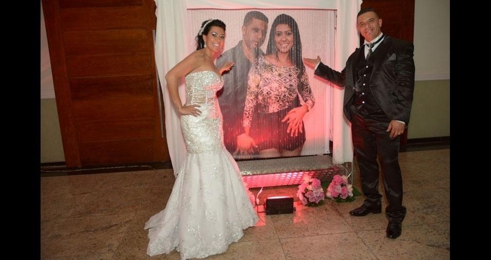 Os noivos Barbara e Eder se casaram em 8 de novembro de 2014, em São Paulo (SP)
