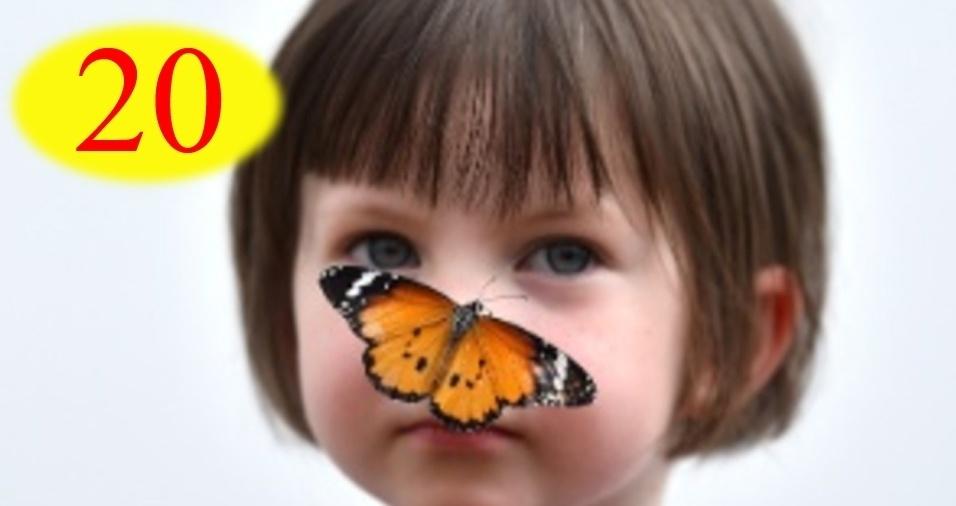6. RESPOSTA: Se a borboleta vive cinco dias, ela terá morrido antes de uma semana (afinal, uma semana tem sete dias). No entanto, se considerarmos seu tempo de vida, sabemos que, em cinco dias, ela voou 20 metros, pois 5 x 4 = 20