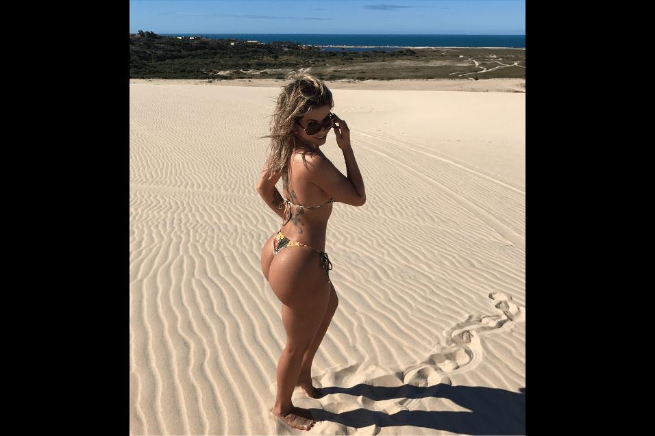 """28.jul.2017 - Participante do """"BBB10"""", Cacau Colucci ficou famosa na casa do reality show por suas curvas generosas"""