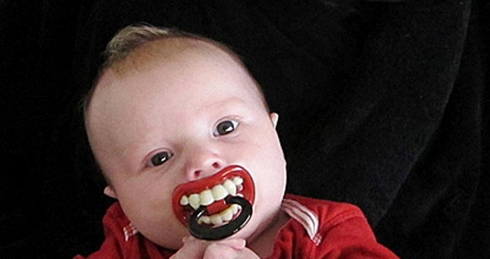 12. Um pequeno vampirinho