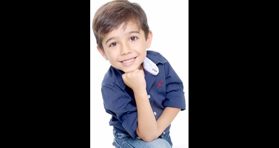 Josylene enviou foto do filho Brayan, de seis anos, de Ourinhos (SP)