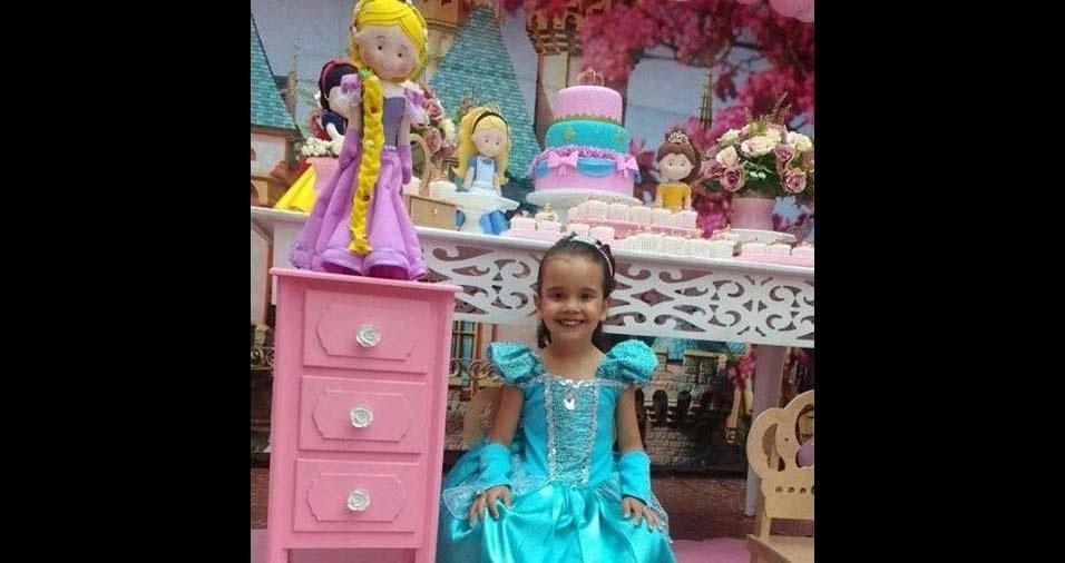 Celma, de São Paulo (SP), enviou foto da filha Juliana, de quatro anos