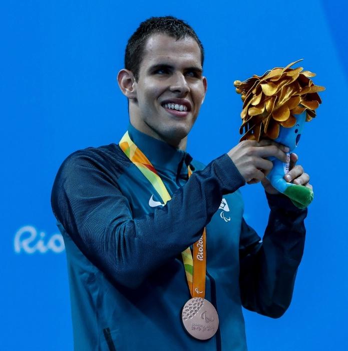10.set.2016 - O nadador Matheus Rheine de Souza foi bronze nos 400 metros livre S11