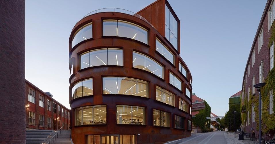 19.fev.2016 - A escola de arquitetura do Instituto Real de Tecnologia em Estocolmo, na Suécia, foi a vencedora da categoria