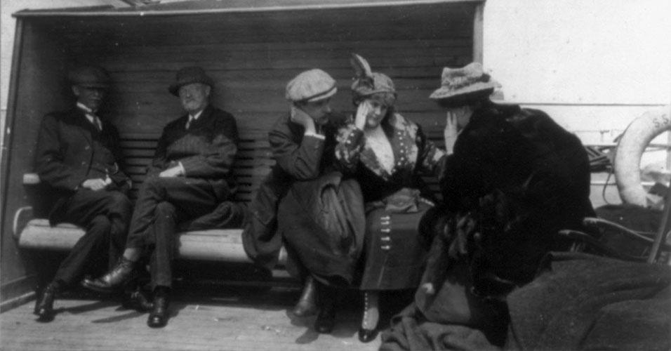 A maioria dos mortos no Titanic morreram de hipotermia nas águas super gélidas da região em que ocorreu o naufrágio