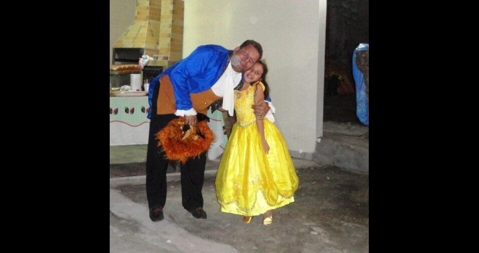 Foto da Laura Vitória, de nove anos, enviada pelo pai Gladstone Johannes, de Belo Horizonte (MG)