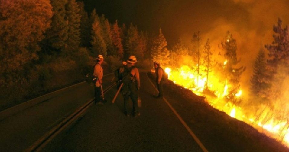 """28. Durante as épocas de mais incêndios florestais, Gregg chega a trabalhar de 14 a 21 dias sem folga por 16 horas seguidas, segundo revelou ao """"High Country News"""""""