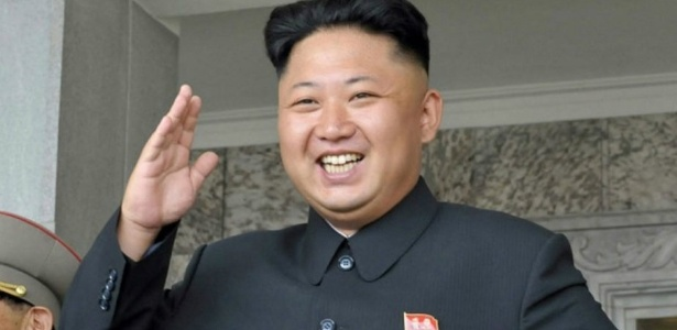 O líder norte-coreano Kim Jong-Un - Reprodução/Sapo