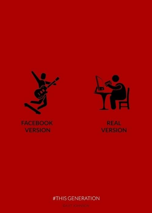 24.set.2015 - Uma mesma pessoa tem duas versões: a virtual e a real