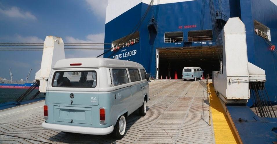 12. A última unidade produzida, com o chassi número EP022.526, foi enviada para o museu da Volkswagen em Hannover, na Alemanha