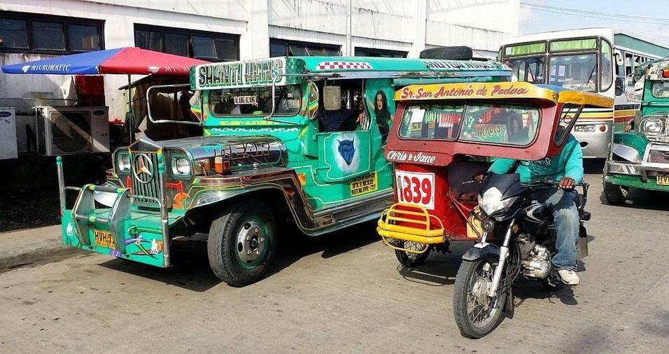 21. Nas Filipinas, são triciclos