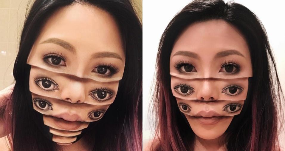 39. Quantos olhos! Mas quais são os verdadeiros?