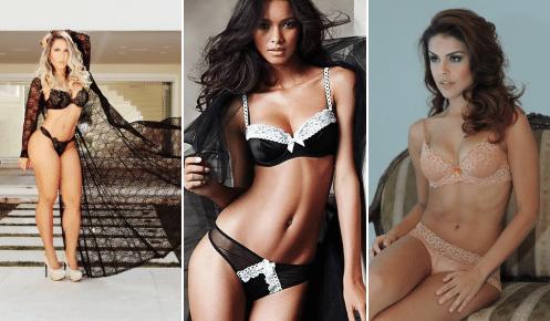 ffec268ec Internet comemora o Dia da Lingerie  veja famosas em ensaios com peças  sensuais