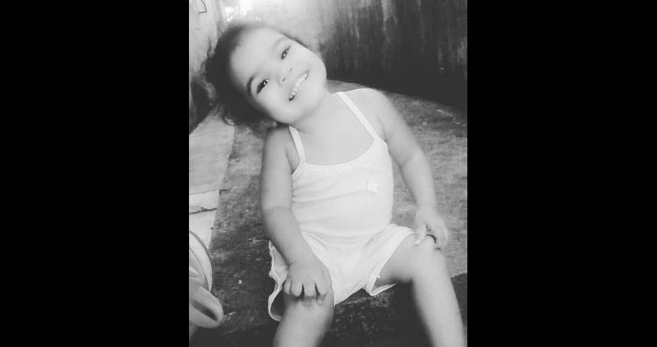 Tulio, de Cabo de Santo Agostinho (PE), enviou foto da filha Yasmin, de dois anos
