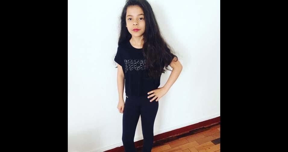 Maicon e Simone, de Porto Alegre (RS), enviaram foto da filha Marina, de 11 anos