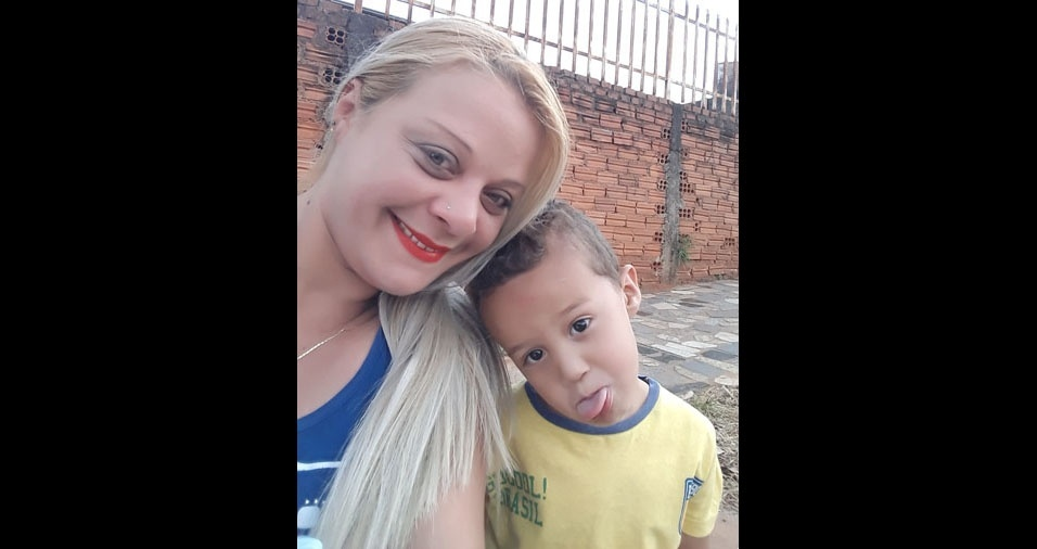 Vanessa Cristina Lavras é a vovó do Lucas Henrique, três anos, de Bauru (SP)