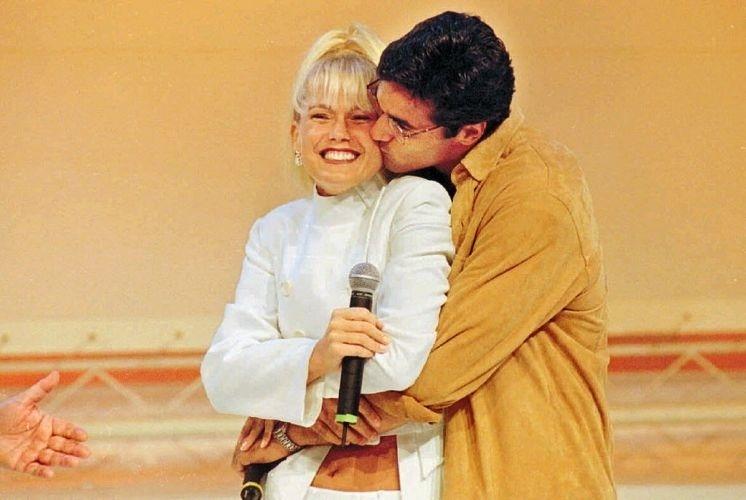 Xuxa e Luciano Szafir