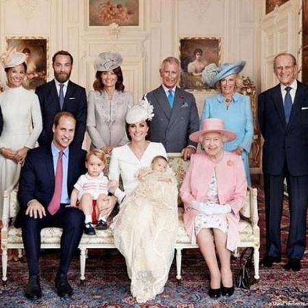 Pense que você tem uma vantagem sobre a família real! - Reprodução/Instagram @Kensington Palace