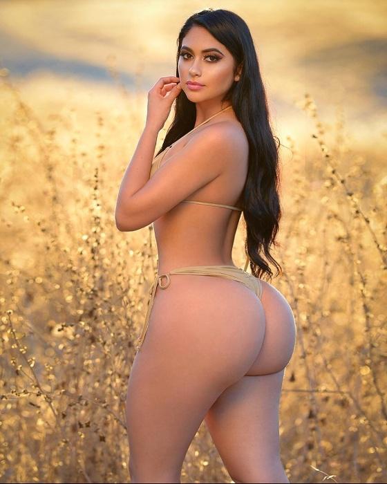 10.jun.2018 - Jailyne Ojeda é uma modelo americana