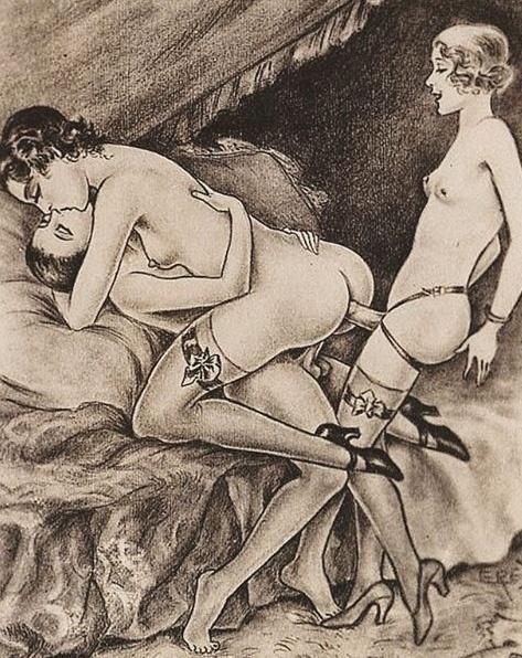 29.mar.2016 - São pinturas, gravuras e rabiscos do século 19, e começo do século 20, época que engloba muitas expressões artísticas em relação ao sexo