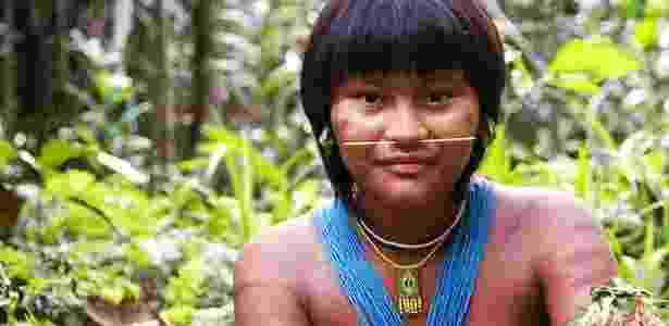 Índígena do povo Kaingang: luta preservou cultura e direitos - Reprodução/Survival International