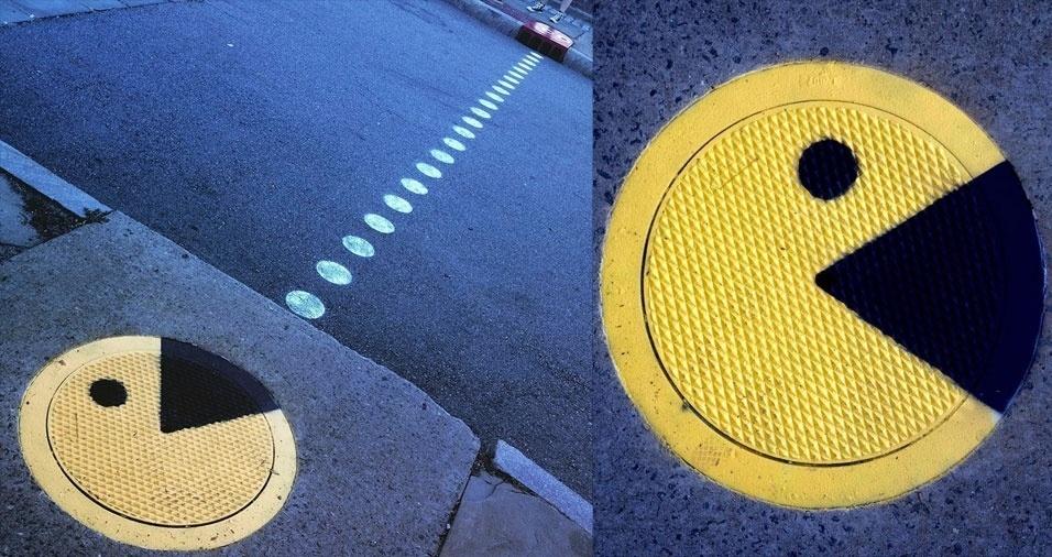 8. Pacman amarelo