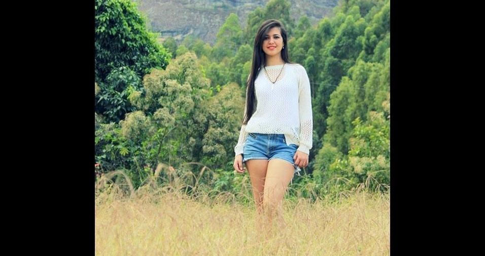 Rayane, 19 anos, de Irupi (ES)