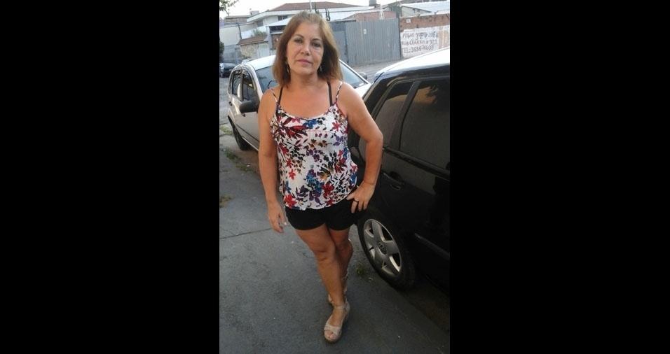 Maria da Penha Silva, 55 anos, de São Paulo (SP)