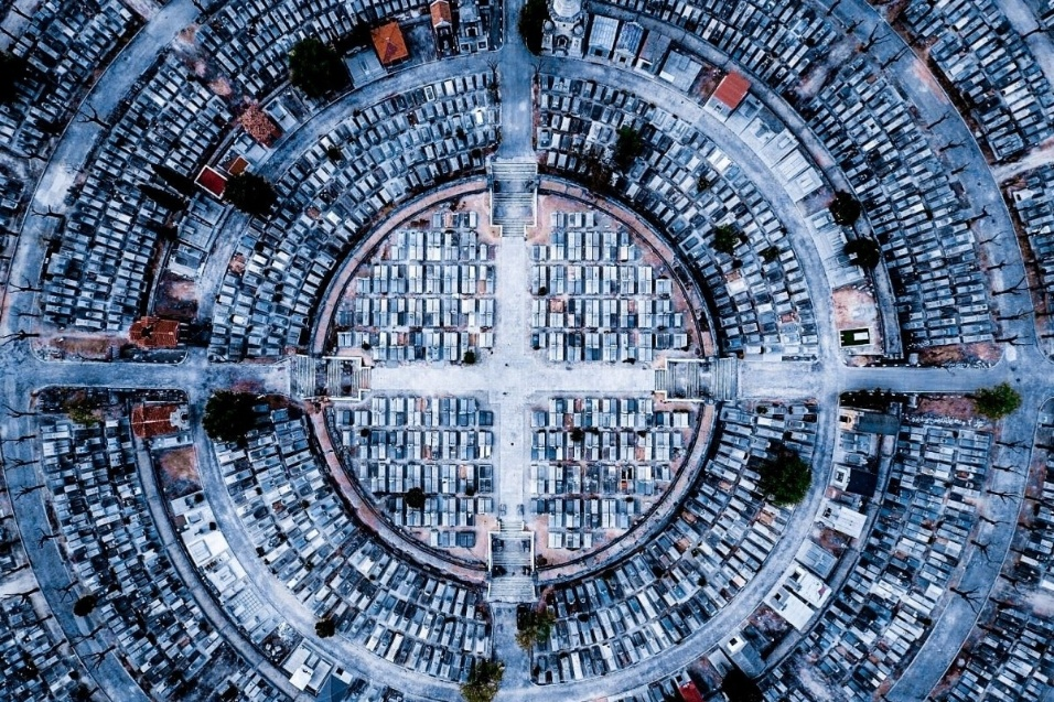 """Com o título de """"paz"""", a imagem feita em Madri ficou com o terceiro lugar na categoria """"urbano"""""""