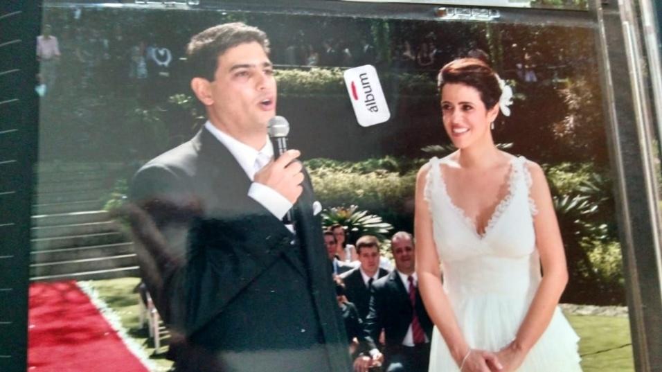 Viviane Arronenzi e Paulo Arronenzi, do Rio de Janeiro (RJ), em 1º de agosto de 2009