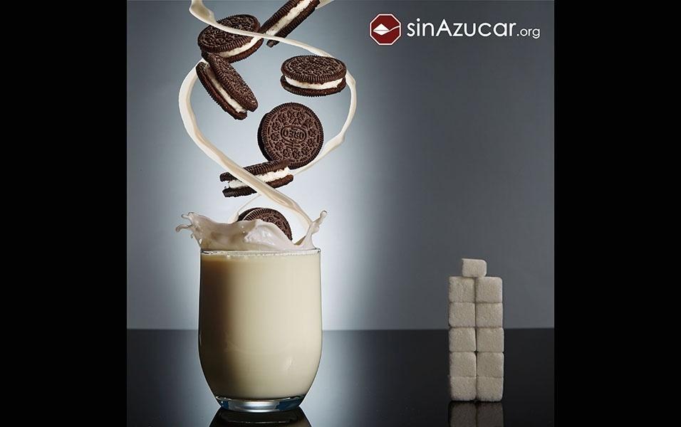 Sete bolachas Oreo tem 42,7 g de açúcar