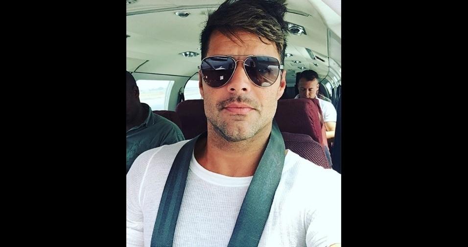 34. Ricky Martin. Diretamente de Porto Rico para o coração do mundo todo. Que beleza!