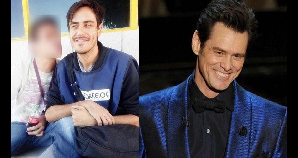 """Marcelo Christian Ferrari, de Campinas (SP), revela: """"as pessoas falam que pareço com o comediante Jim Carrey"""""""