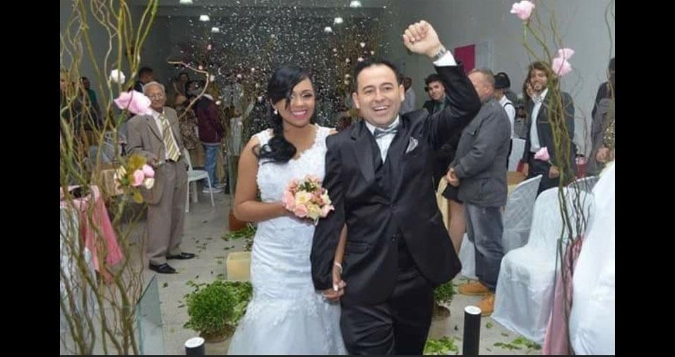 Stella Ramos de Souza é casada com Alan Silva de Souza, de São Paulo (SP)