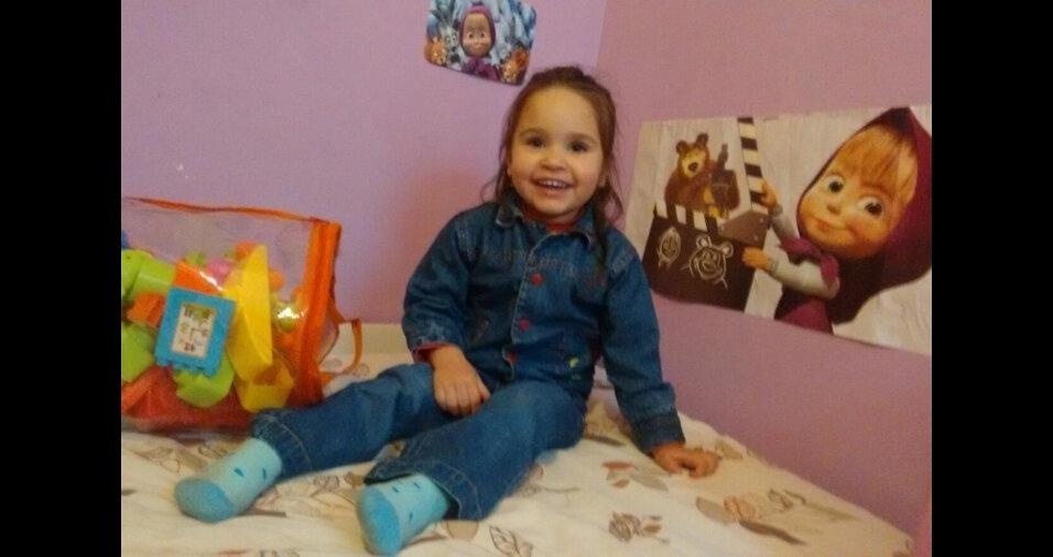 A Elis tem três anos e é filha do Edgar Serapião. Eles moram em Florestópolis (PR)