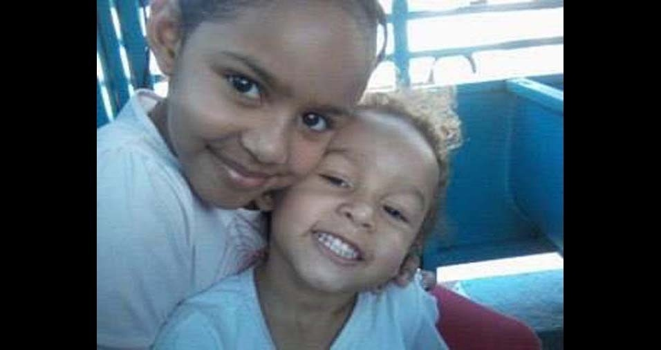 O pai Maurício enviou foto das filhas Heloísa Helena e Ana Carolina, de Araçatuba (SP)