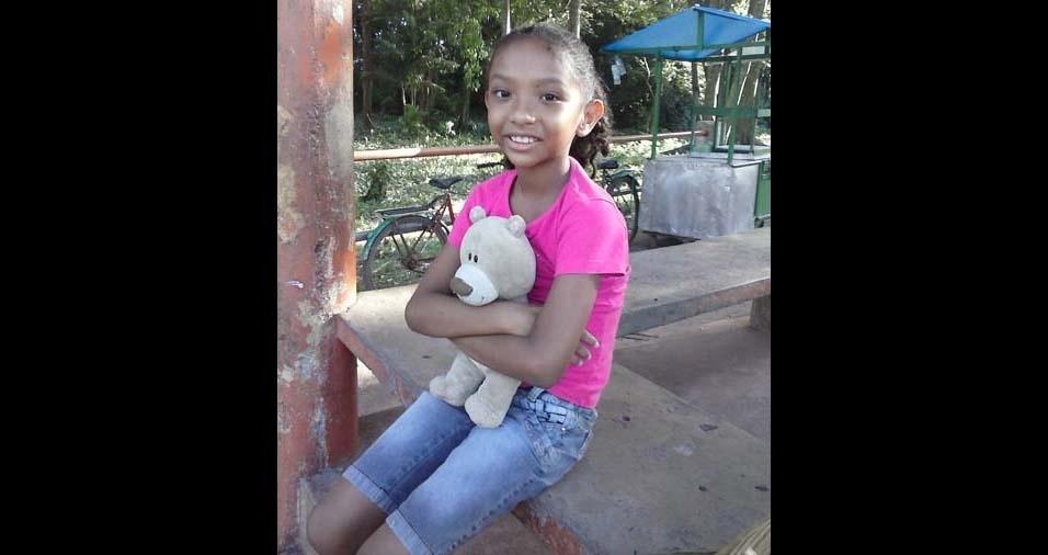 Marcio, de Belém do Pará (PA), enviou foto da filha Maitê