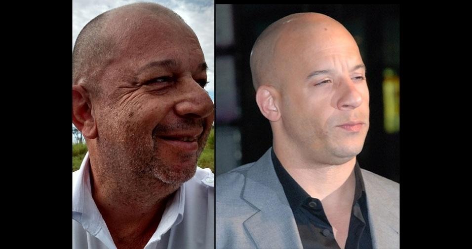 """""""Me acho parecido com o ator Vin Disel"""", diz Vagner Rodrigues"""