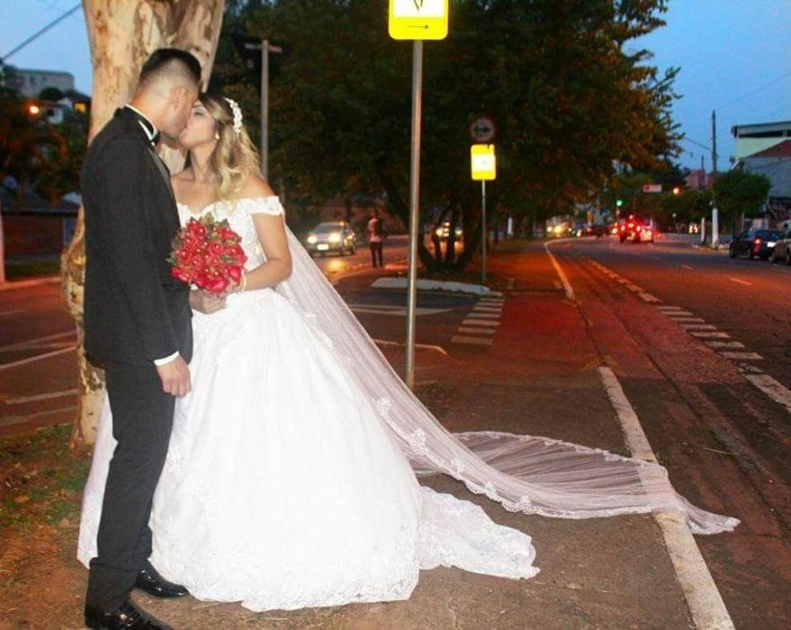 Diego Silva de Souza e Fabiane Thais Lima Moura de Souza se casaram no dia 16 de dezembro de 2017, em São Paulo (SP)