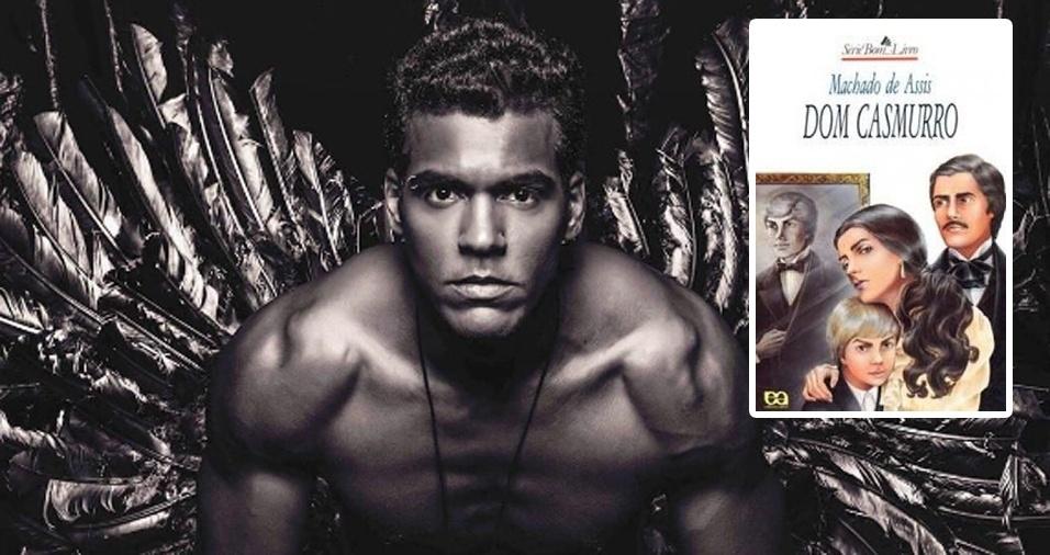 """11. O ator e músico Marcello Melo Jr. já revelou ser apaixonado por literatura brasileira. Seu livro favorito é """"Dom Casmurro"""", de Machado de Assis. A única coisa que não sabemos é se Marcello acredita ou não que Capitu traiu Bentinho"""
