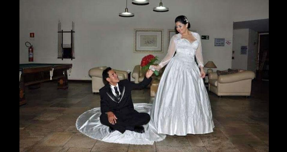 Laís se casou com Cristiano, de Bebedouro (SP), em 31 de maio de 2014
